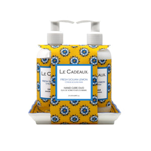 Le Cadeaux Duo Gift Set Fresh Sicilian Lemon