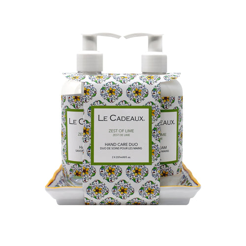 Le Cadeaux Duo Gift Set Zest of Lime