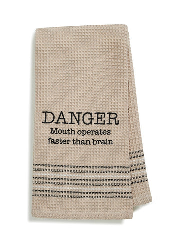 Danger Dish Towel