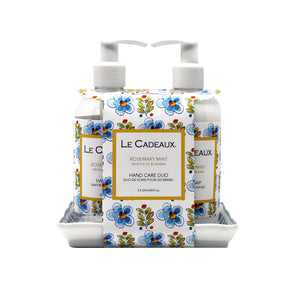 Le Cadeaux Duo Gift Set Rosemary Mint