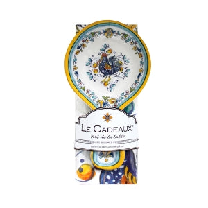 Le Cadeaux Florence Spoon Rest with Matching Tea Towel