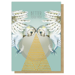 Papaya Art Greeting Card 5x7 Better Together