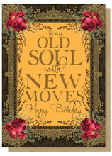 Papaya Art Greeting Card 5x7 Happy Birthday Old Soul