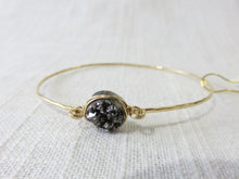 Lotus Glimmer Bangle Gold