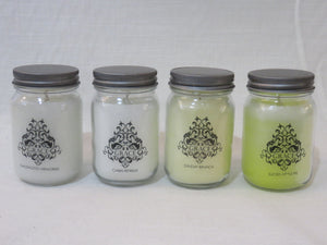 Mason Jar Scented Candles
