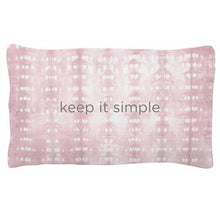 Karma Quote Lumbar Pillow