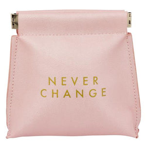 Coin Purse, Never Change