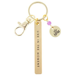 Karma Sentiment Keychain 'Moment'