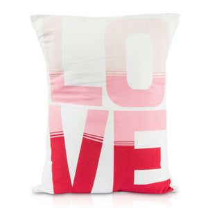 Lil Pyar Pink Ombre Love Pillow