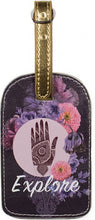 Papaya Art Luggage Tag 'Floral Explore'