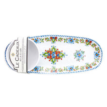Le Cadeaux Madrid White Bowl & Tray Set