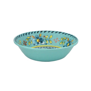 Le Cadeaux Madrid Turquoise Cereal Bowl, Set of 4