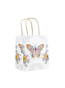 Papaya Art Mini Gift Bag, Paisley Butterfly