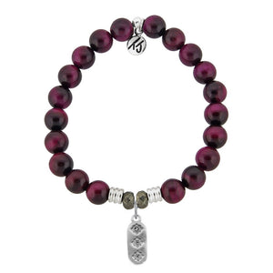 TJ Pink Tigers Eye Serendipity