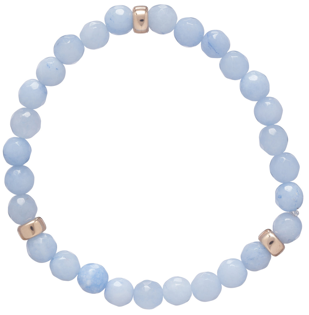 Enewton Design Promise Effortless Blue Lace Agate Bracelet