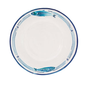 Le Cadeaux Santorini Dinner Plate, Set of 4
