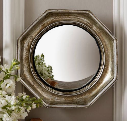 Two's Company Octagon Porthole Mirror