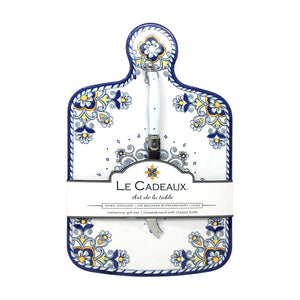 Le Cadeaux Sorrento Cheeseboard & Cheese Knife Set