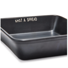 'Dig In' Square Serving Dish and Spreader Set
