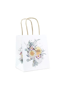 Papaya Art Mini  Gift Bag, Sunrise Petals