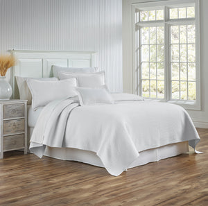 Tracey Coverlet, White