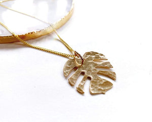 Gold Tropics Necklace