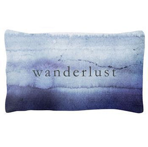 Karma Quote Lumbar Pillow, Wanderlust