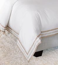 Watermill Taupe Duvet Cover and Comforter