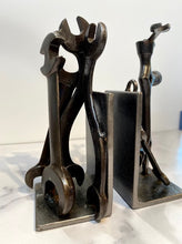 Industrial Wrench Bookends