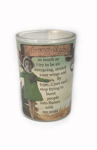 Erin Smith Glass Soy Candle