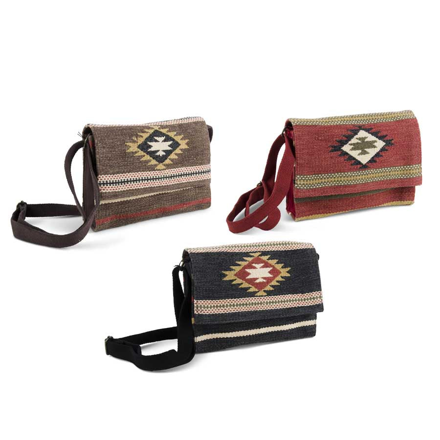 KK Navajo Crossbody Bag, Brown
