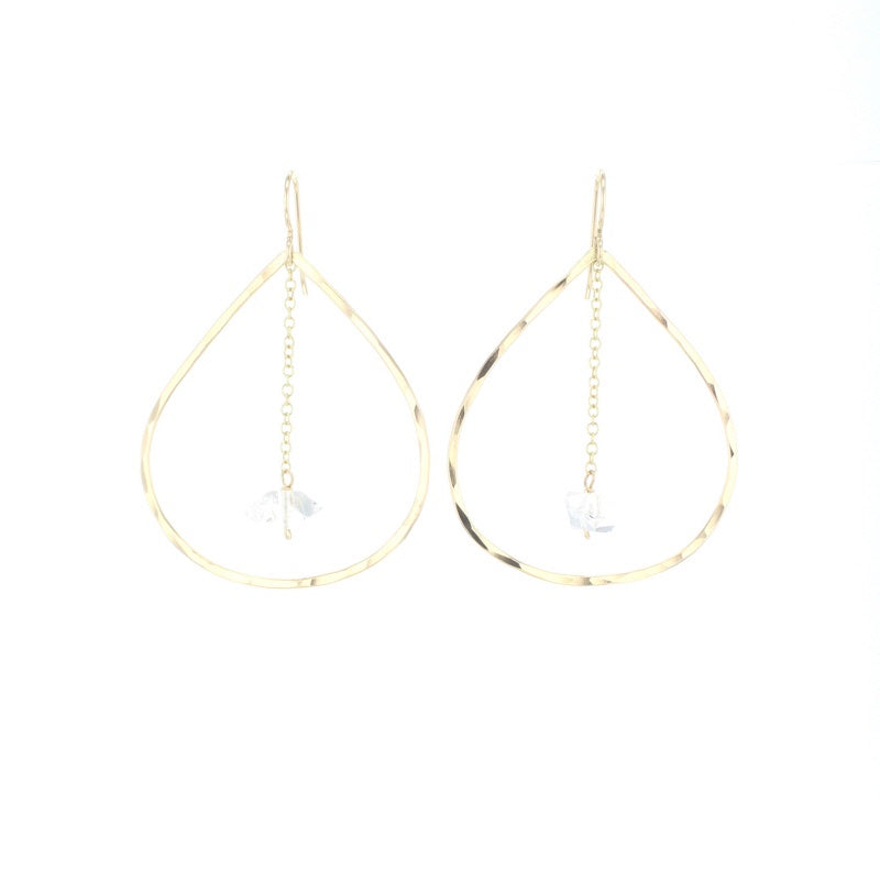 Lotus Gold Spire Earrings