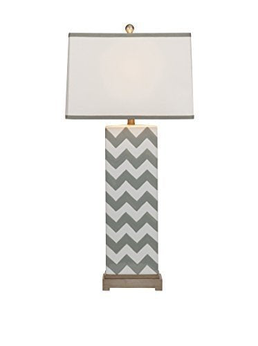 Chandler Gray Chevron Lamps