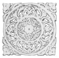 Circular Medallion Wall Plaque