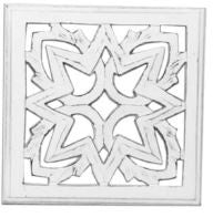 Geometric Wall Plaque