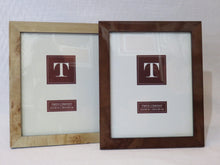 Two's Company Wood Glass Frame