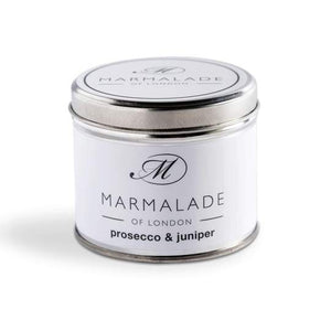 Prosecco & Juniper Tin Candle MD
