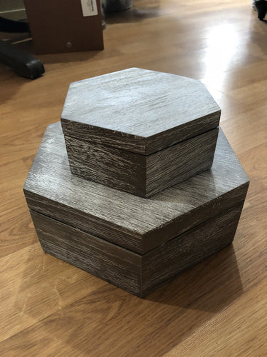 Swing Design Hexagon Boxes