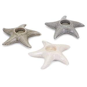 Sandcastle Starfish Candle Holder