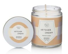 Vetiver Cream Candle