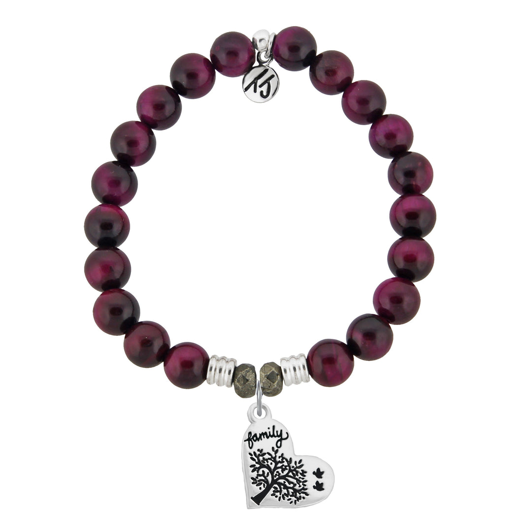 TJ Pink Tigers Eye Family Tree
