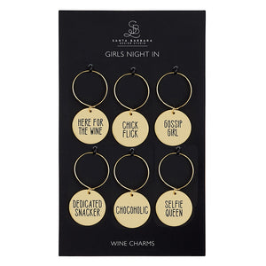 CB Wine Charm Set - Girls Night In