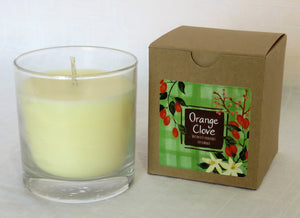 Orange Clove Candle in Kraft Box