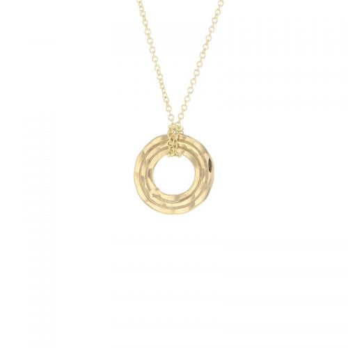 Lotus Gold Beam Necklace
