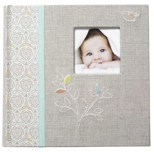 Loose Leaf Memory Book Linen Tree