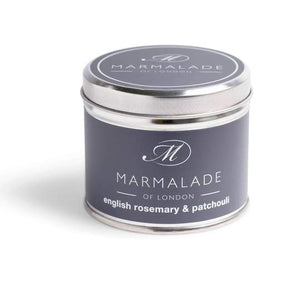 English Rosemary & Patchouli Tin Candle MD