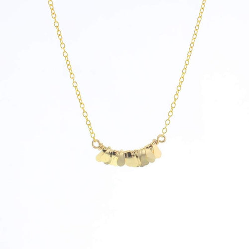Gold Mesi Necklace