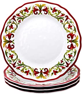 Le Cadeaux Vischio Dinner Plate, Set of 4