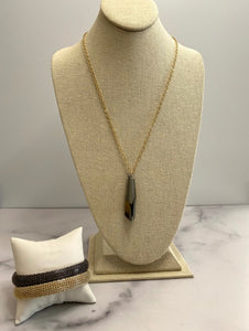 Enewton Design Allure Envy Necklace Black Diamond