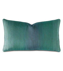 Twin Palms Ombre Decorative Pillow 15x26